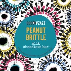 Peanut Brittle Milk Chocolate Bar 80g