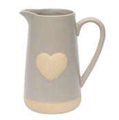 Mantua large heart jug vase