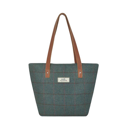 Earth Squared Heritage Tote Bag -  Steel Blue