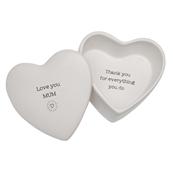 'Love you Mum' secret message box