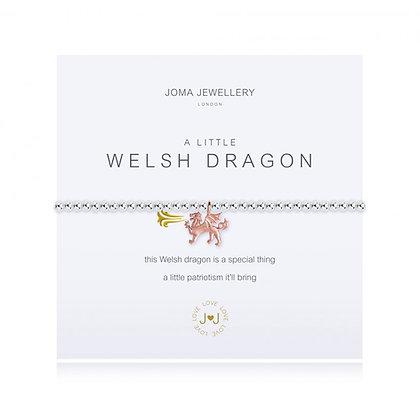 Joma Jewellery A LITTLE WELSH DRAGON BRACELET