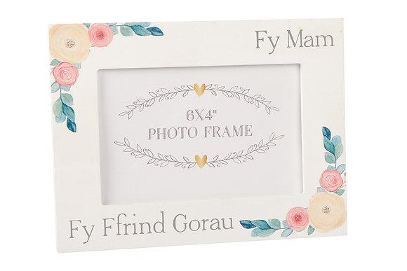 """Ffram Ffoto """"Fy Mam Fy Ffrind Gorau""""/Photo Frame 6"""" x 4"""""""