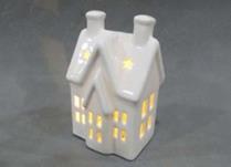 LED Ceramic House 15cm