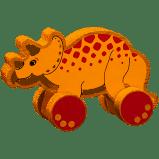 Lanka Kade Triceratops  Push Along