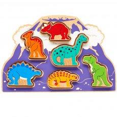 Lanka Kade Shape Sorter - Dinosaur