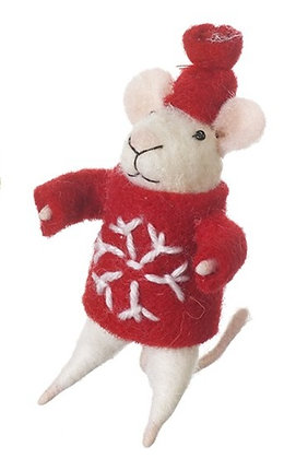 Wool Mouse decoration