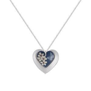 Kate HH Studio Jasmine Double Heart Pendant