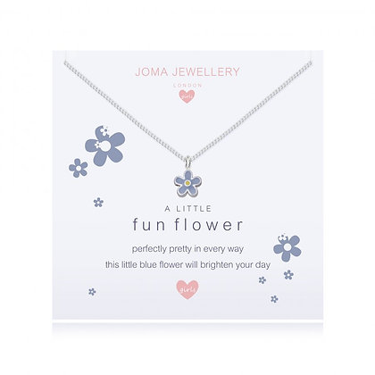 Joma Jewellery  CHILDREN'S A LITTLE FUN FLOWER NECKLACE