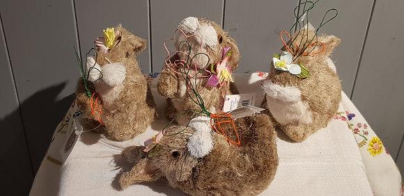 Bristle Small Bunny - choice of 4 designs