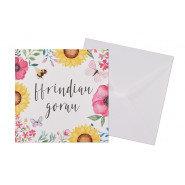 Ffrindiau Gorau (Best Friends) Card - Blank inside