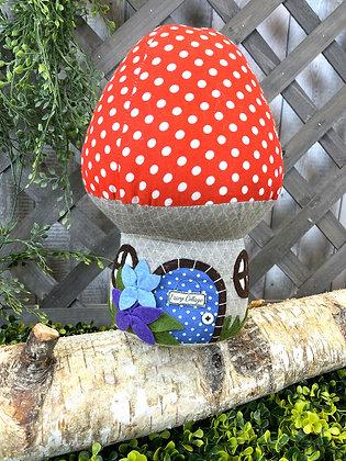 Toadstool Doorstop - Fairy Cottage