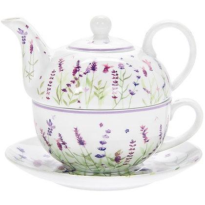 Purple Lavender Tea For One