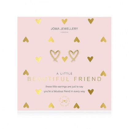 Joma Jewellery A LITTLE BEAUTIFUL FRIEND EARRINGS