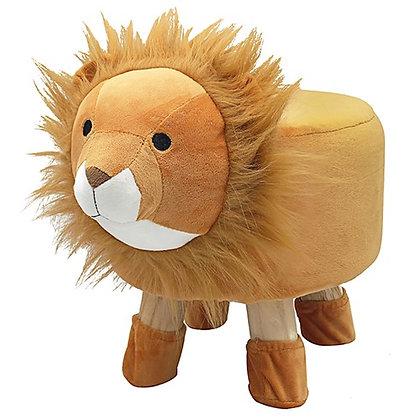 Cute Animal Footstool Lion