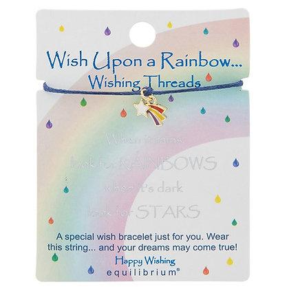 Wish Upon A Rainbow Wish String - When it Rains - Navy