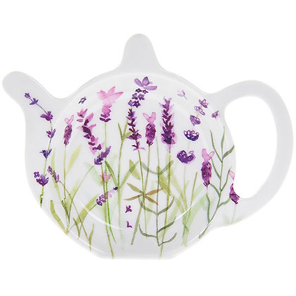 Purple Lavender Teabag Tidy
