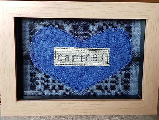 Chwaethus - Melin Tregwynt frame Cartref (Home)  Blue