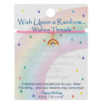 Wish Upon A Rainbow Wish String Friend - Pink