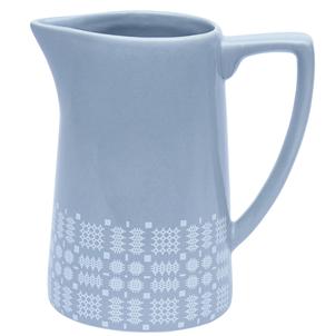 Welsh blanket stitch jug vase