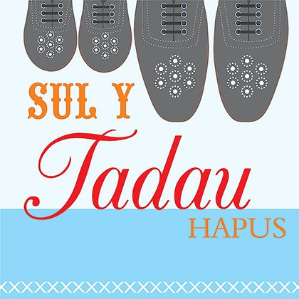 Carden Sul y Tadau Hapus/Father's Day card