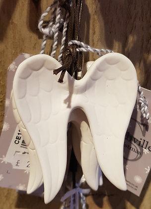 Hanging Angel Wings 8 cm