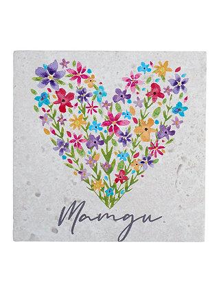 Welsh Mamgu (Grandma) Coaster