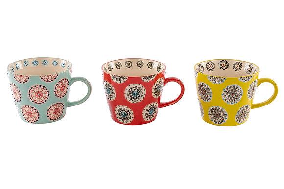 Bright Patterned  Mug