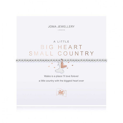 Joma Jewellery A LITTLE BIG HEART SMALL COUNTRY BRACELET