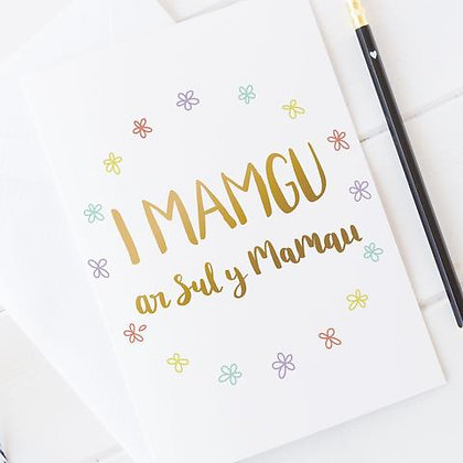 Draenog - Cardiau Sul y Mamau - Mamgu HW58
