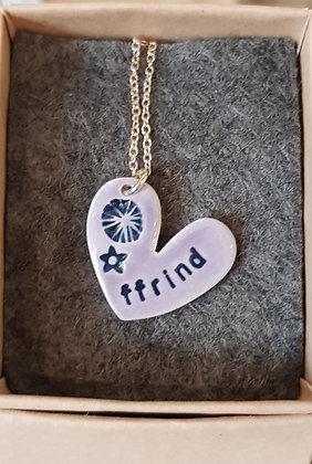 Katy Mai - Mwclis Cymraeg / Welsh Necklace -  Ffrind (Friend)