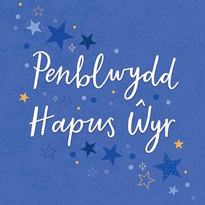 Carden Penblwydd Hapus Wyr/ Happy Birthday Grandson Card