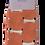 Thumbnail: Miss Sparrow Sausage Dogs Socks Orange