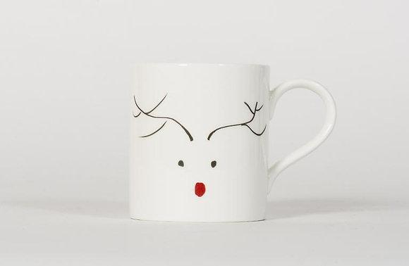 Rhodri Reindeer China Mug