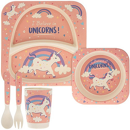 copy of Bamboo Feeding Set Unicorn