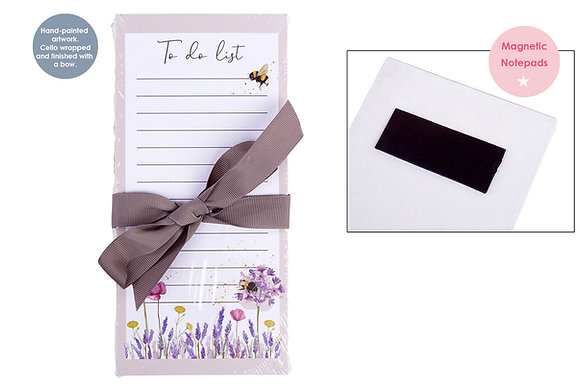 Bee Magnetic Note Pad - To Do List
