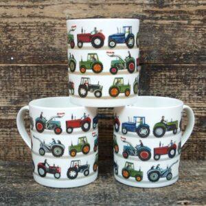 Driftwood Design - Tractor  Mug