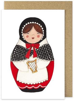 Myfanwy Welsh Lady card