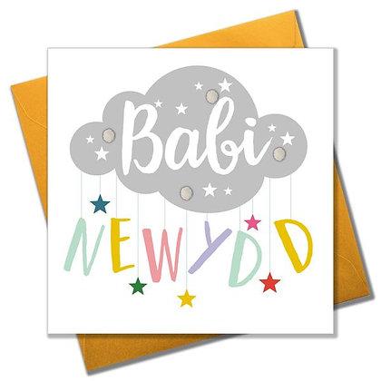 Carden Babi Newydd/ New Baby Card
