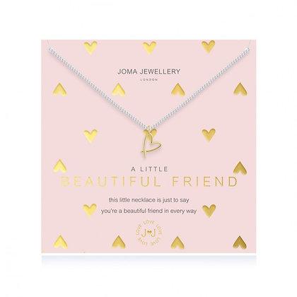 Joma Jewellery A LITTLE BEAUTIFUL FRIEND NECKLACE