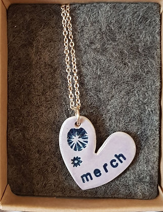 Katy Mai - Mwclis Cymraeg / Welsh Necklace - Merch (Daughter)