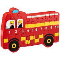 Lanka Kade 1 - 10 Jigsaw Fire Engine