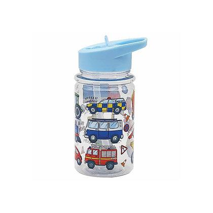 Little Stars Vehicle Drink Bottle