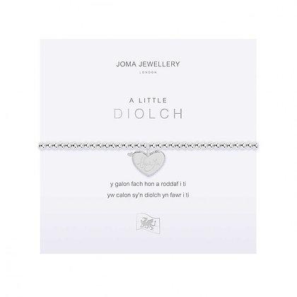 Joma Jewellery  A LITTLE DIOLCH (THANK YOU)BRACELET