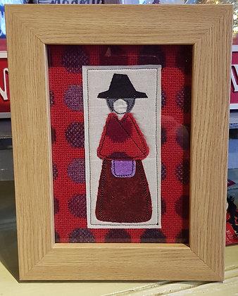 "Chwaethus 5"" x 7"" Welsh lady ""Angharad"" frame"