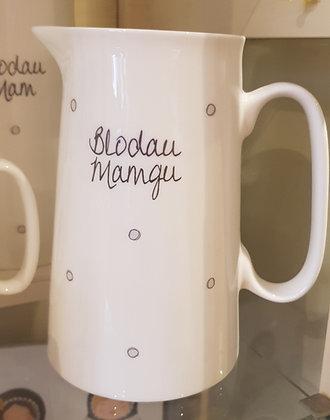 """Jwg """"Blodau Mamgu""""/""""Grandma's Flowers"""" Jug 2pt"""