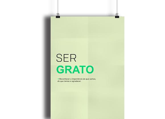 Poster Ser Grato