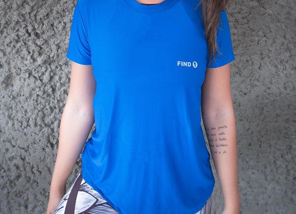 Camisa Azul - Tecido Bolt