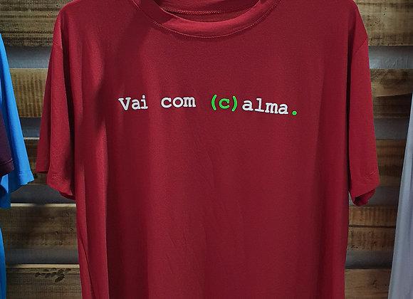 Camisa Vinho (c)alma