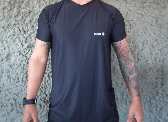 Camisa Preta - Tecido Bolt