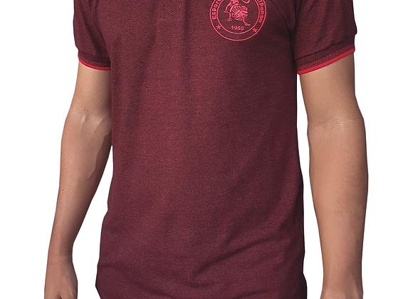 Camisa Polo Vinho Jacuipense